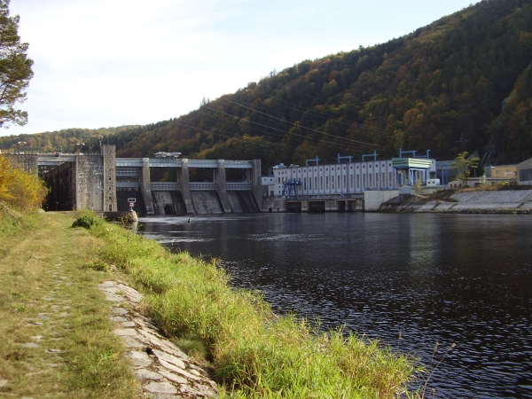 Štěchovická přehrada (Adam Hromada)